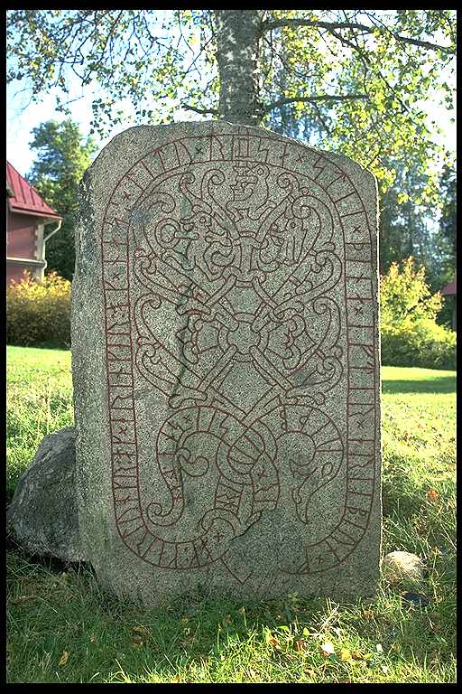 Runes written on runsten, granit. Date: V s 1000-t